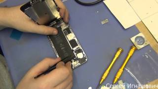 Как поменять батарейку самому на iPhone 6. Подробный обзор.