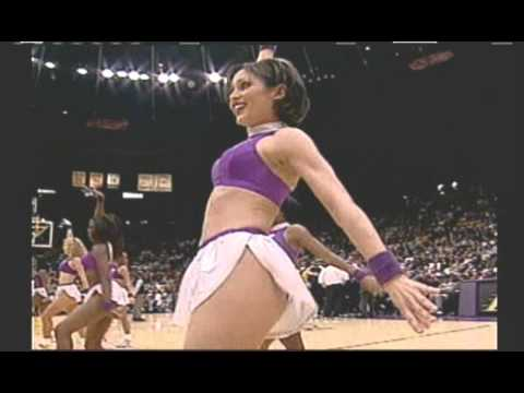 NBA Live 2000 Real Life Cheerleaders of the Western Conference Pacific Division