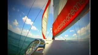 Mauritius Catamaran wind dancer 1 GoPro