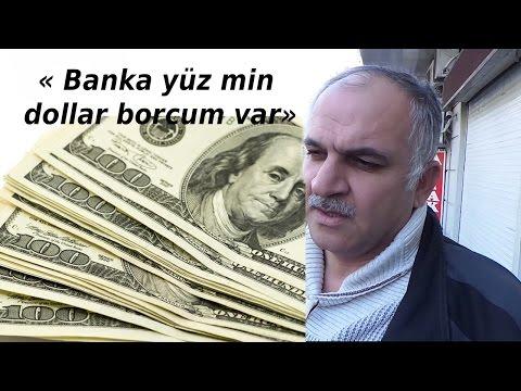 #Manat ucuzlaşdı - Banka yüz min dollar borcum var - [ikinci video]
