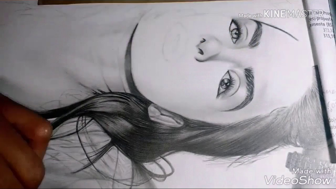 Download Drawing Priscilla Avila modelo.
