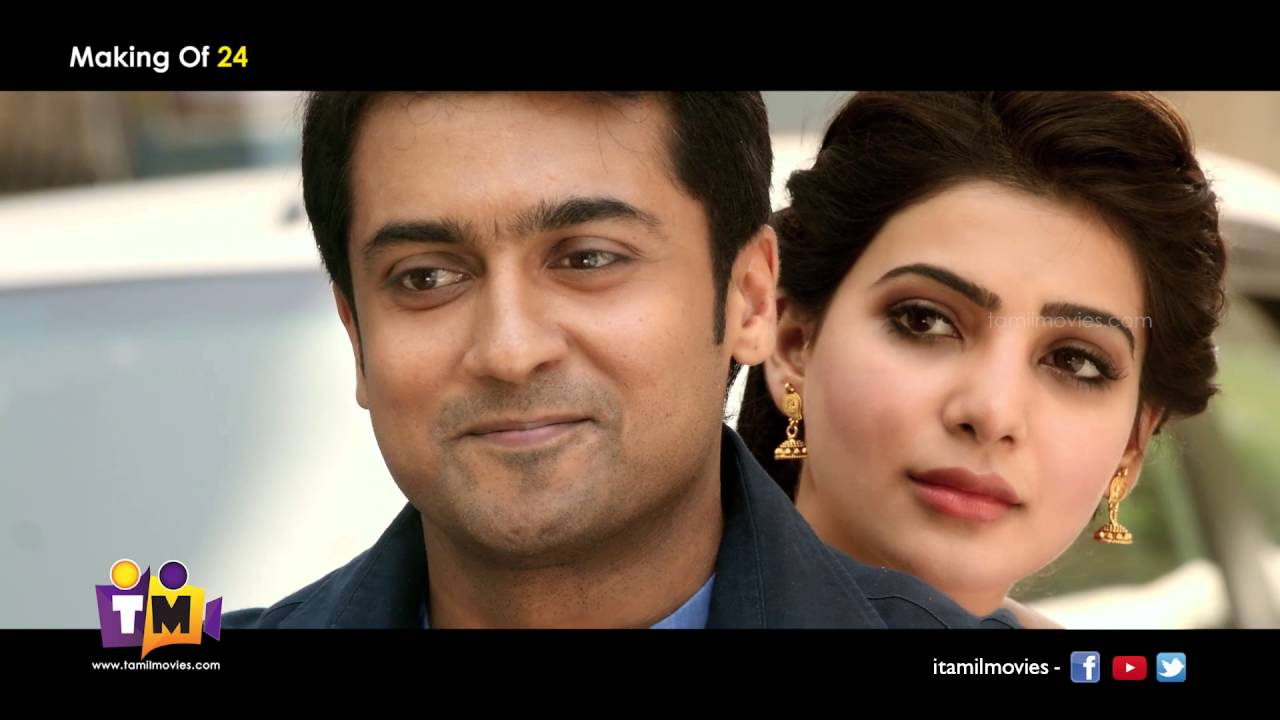 24 Movie 24 Movie Making Video Suriya Samantha A R Rahman
