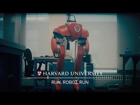 Harvard robotics researchers want to teach a walking robot to run