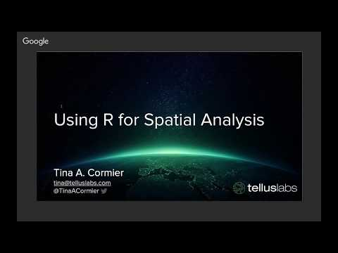 ABCD GIS  OCT 2017 - Tina Cormier - R for Spatial Analysis