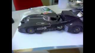 Batmobile 1989 make from paper ( papercraft ) DIY