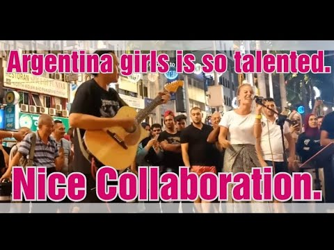 Gadis Argentina dapat sambutan hebat...