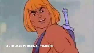 Conselho do He-Man: Correr faz bem à saúde!