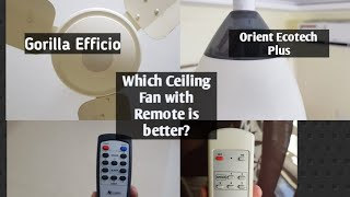 Most efficient 3 Blade Ceiling Fans with Remote Control Review.