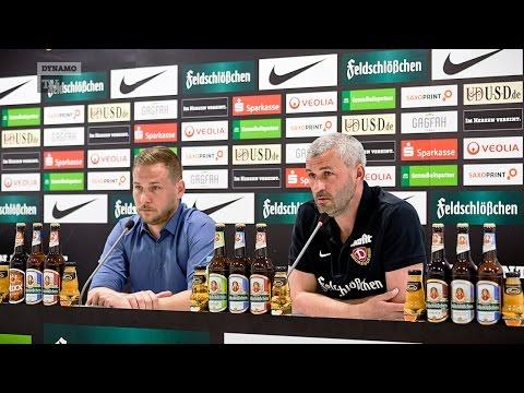 34. Spieltag | SGD - MSV | Pressekonferenz vor dem Spiel
