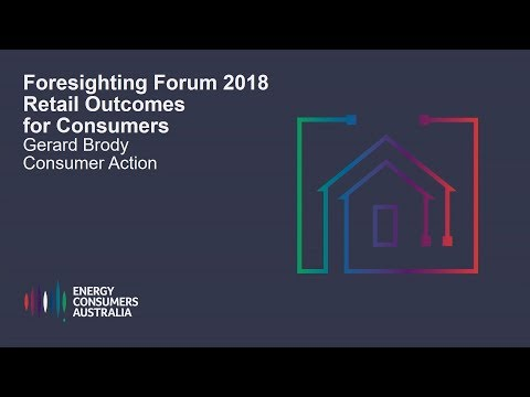 Gerard Brody, Consumer Action -Retail Outcomes for Consumers