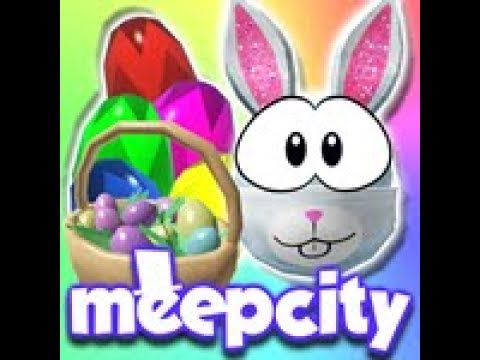 Meepcity Egg Hunt Finding All The Eggs Part 1 Youtube