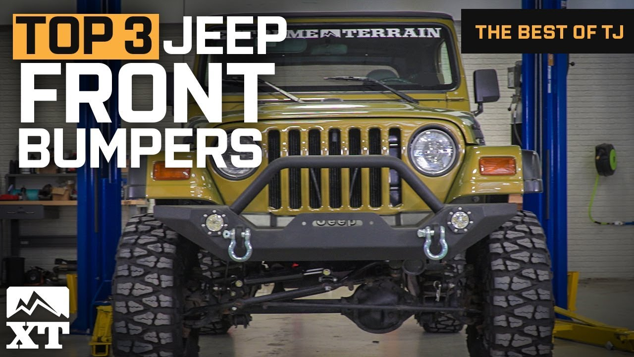 The 3 Best Jeep Wrangler Front Bumpers For Tj Youtube Jk