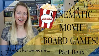 Best Board Game Movies