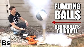 Floating Balls - Bernoulli's Principle Visualized
