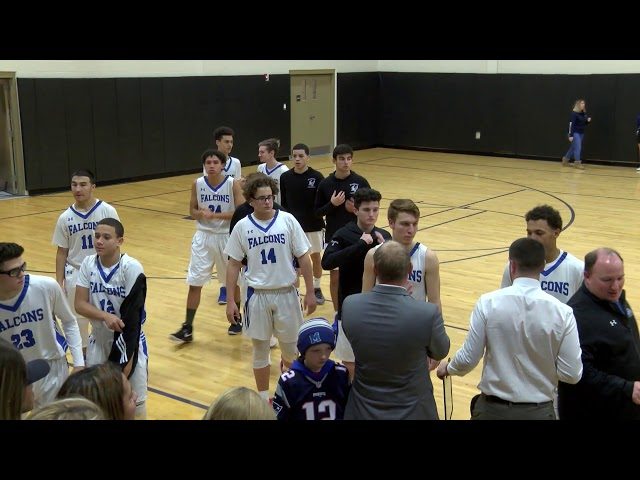 Mashpee Boys Basketball vs. Randolph Blue Devils Jan. 11, 2019