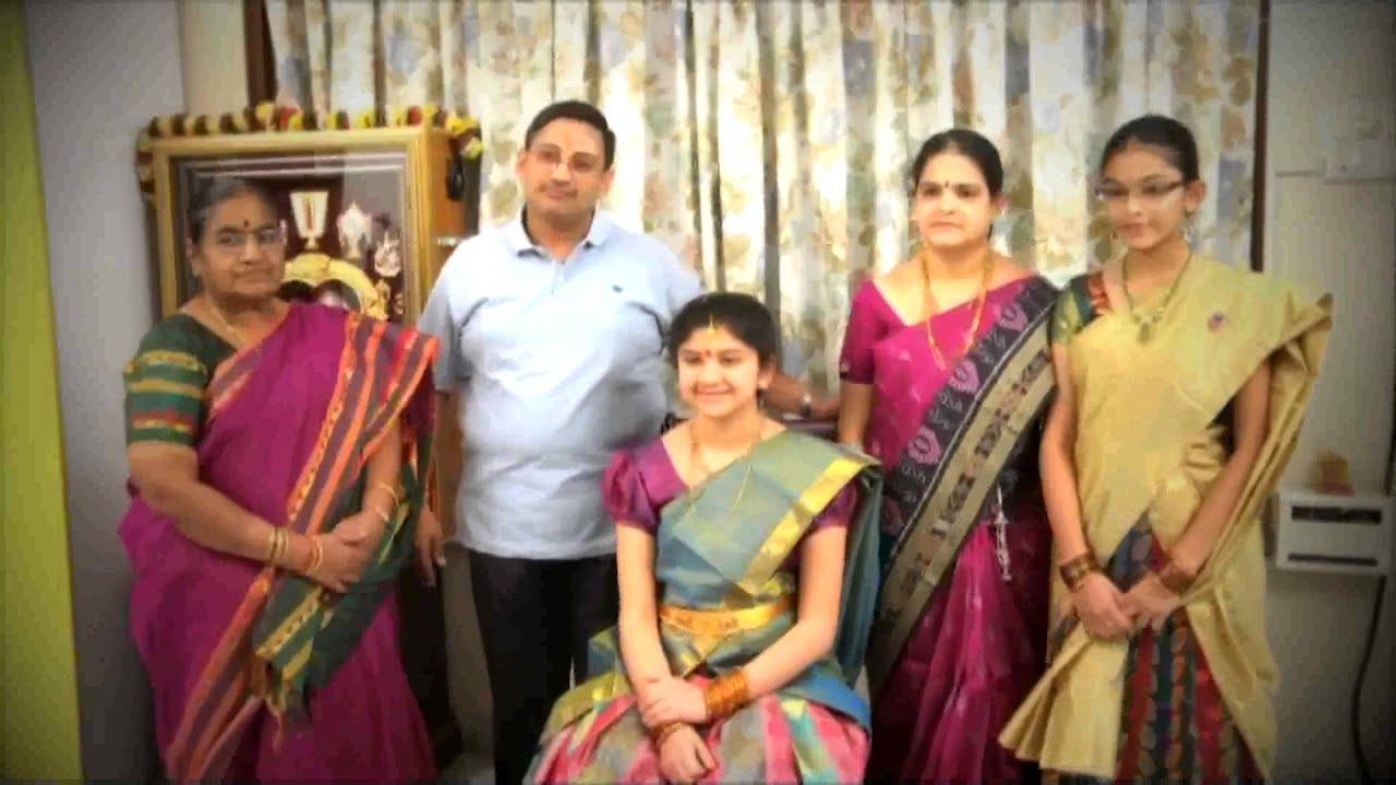 Nisha Half Saree Ceremony - YouTube