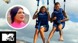 Sam And Chloe's First Date Flying FAIL! | Geordie Shore 1605