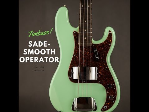 Smooth Operator - Sade - Bass Cover (with Tabs & melodic Basssolo)