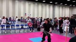 David 12-6-2014 San Diego XMA Sword