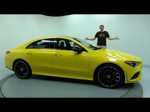 The 2020 Mercedes-Benz CLA Is The Sporty Baby Mercedes
