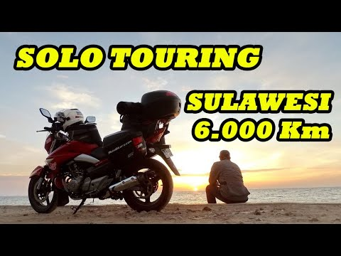 Solo Touring Sulawesi 6.000 Km