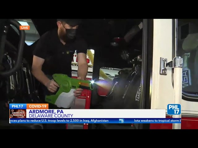 PHL17 Live - Germ Hero Local brothers team up to fight COVID-19 in Philadelphia