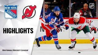 NHL Highlights | Rangers @ Devils 11/30/19
