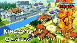 Kingdoms and Castles - Ep.1 : Inauguration de la cité ! - TheFantasio974 Gameplay PC FR