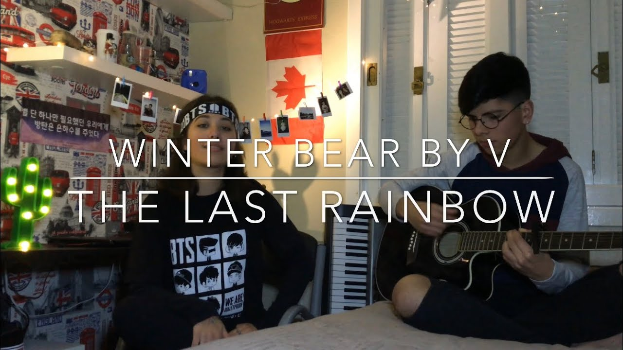 winter bear by v bts cover the last rainbow youtube. Black Bedroom Furniture Sets. Home Design Ideas