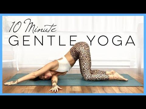 10 Minute Yoga Full Body Stretch (Restorative Yoga for Beginners)