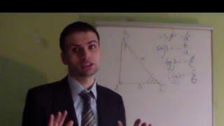 Синус,косинус,тангенс, котангенс гострих кутів прямокутного трикутника