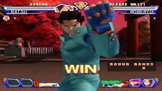 Project Justice - Arcade/Free Mode - Batsu, Hideo & Kyosuke