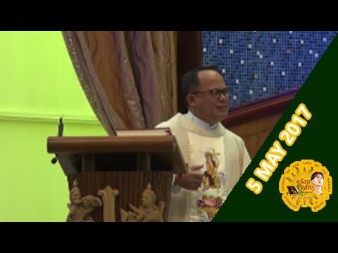 Holy Mass with Rev. Fr. Edione Febrero - 5 May 2017