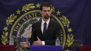 Ian Speaks at the First 2014 NH Gubernatorial Debate
