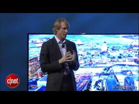 Michael Bay remembers his own movies and walks off stage (CES)