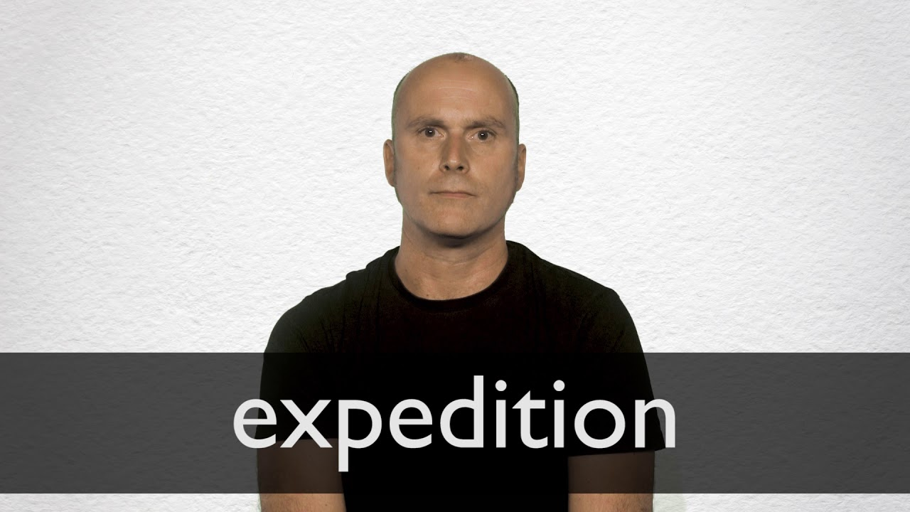 How to pronounce EXPEDITION in British English