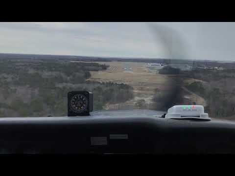 Landing at Cape May County Airport