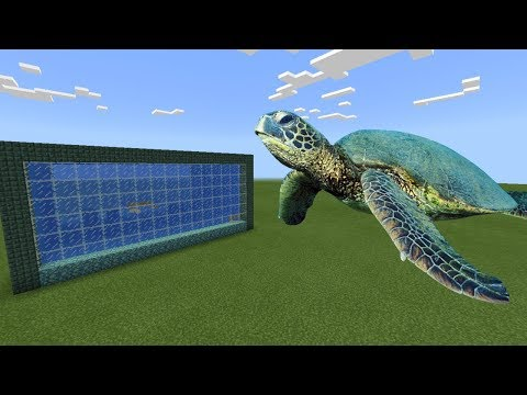 How To Make a SEA TURTLE Farm in Minecraft PE