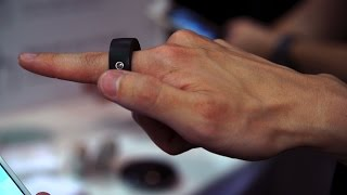 Ring Gesture Control Device for Smart Devices | CES 2015
