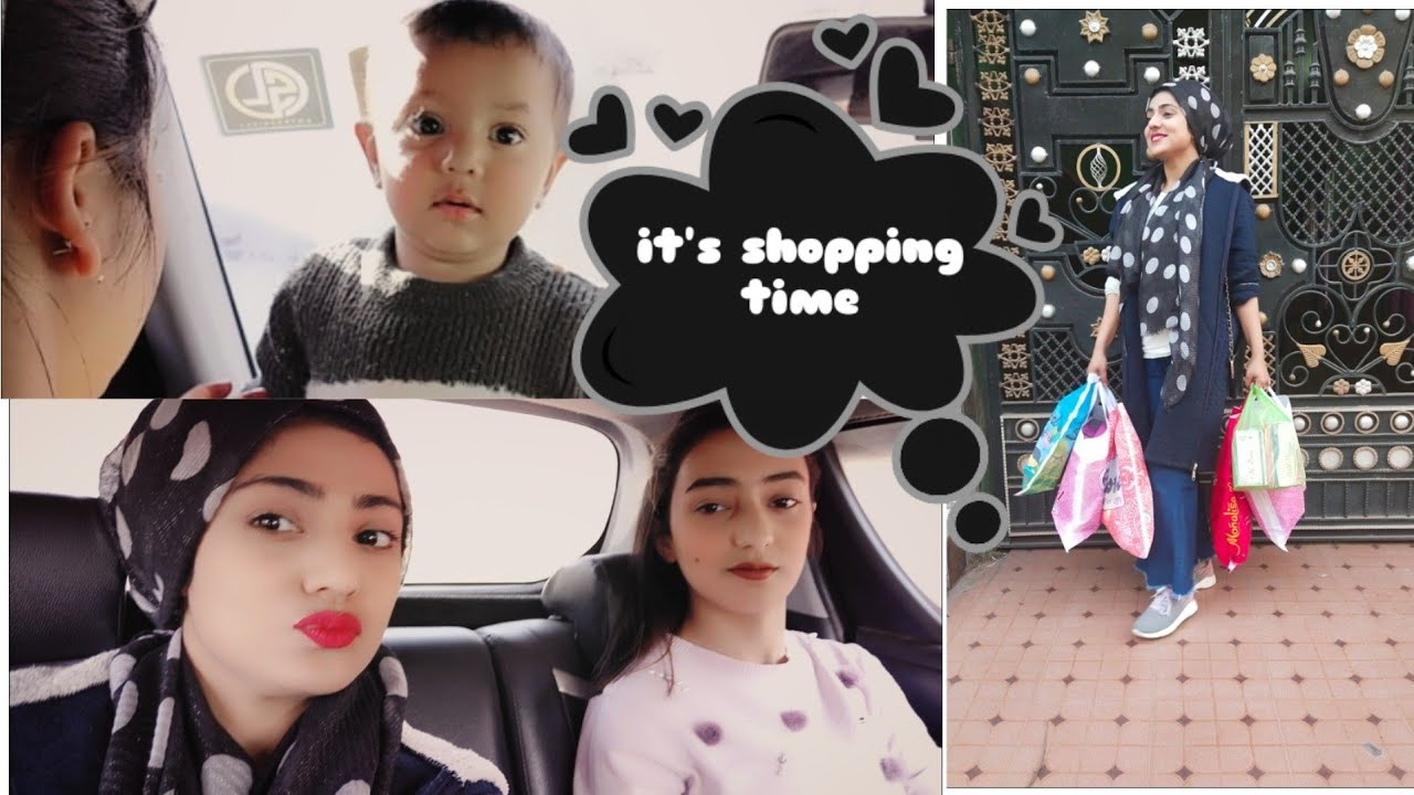 Shopping time with Bhabhi and Sister..   Family day out    Shopping with family..   Family Vlog