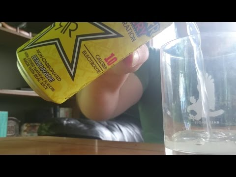 Rockstar Recovery Lemonade Energy Drink Review