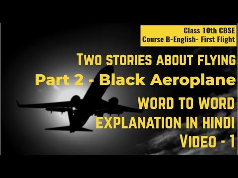 Two Stories About Flying Part 2 Black Aeroplane   Summary In Hindi