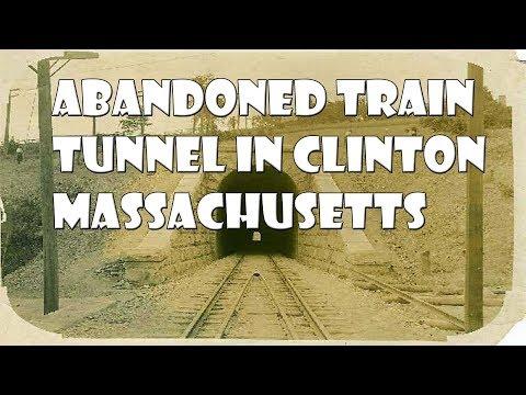 Abandoned Train Tunnel in Clinton Massachusetts