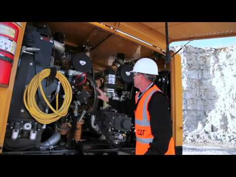 Cat® MD5150 Track Drill Walk Around