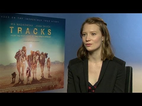 Tracks star Mia Wasikowska: 'Camels are a very obliging film animal'