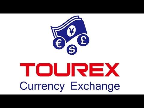 Money exchange at Tourex in Osaka
