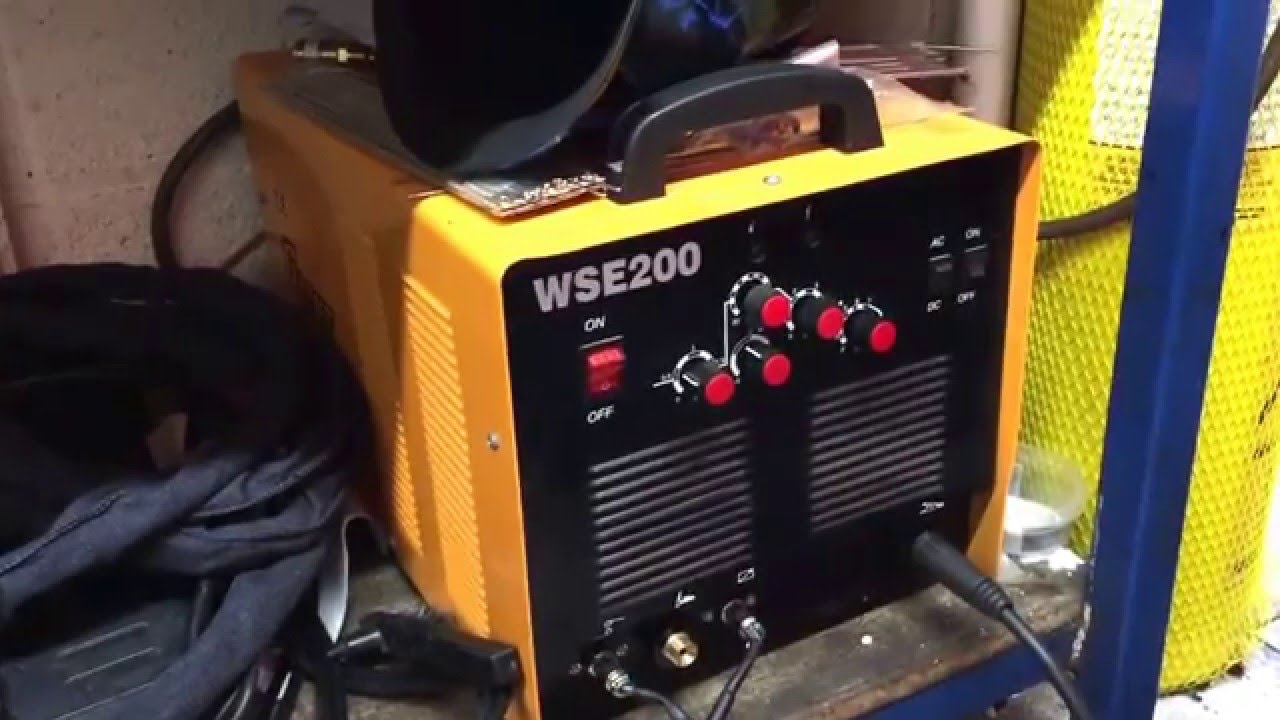 Kende Tig Welder Schematic Wire Center Lincoln Welders Wiring Giant Wse200 Chinese Review Youtube Rh Com Diy High Frequency