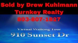 Columbia Sc Real Estate: 910 Sunset Dr Virtual Showing