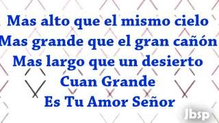 Tu Amor // Alex Campos // Derroche de Amor (Letra/Lyrics)