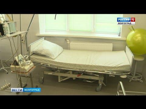 В Калачевской ЦРБ завершается ремонт хирургического отделения